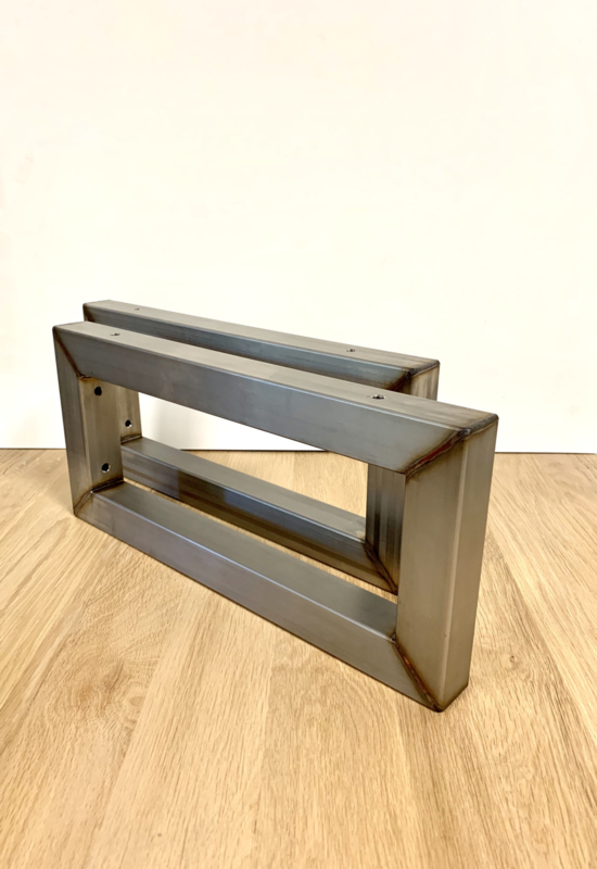 Plankdragers industrieel staal RAW 44x20cm maatwerk