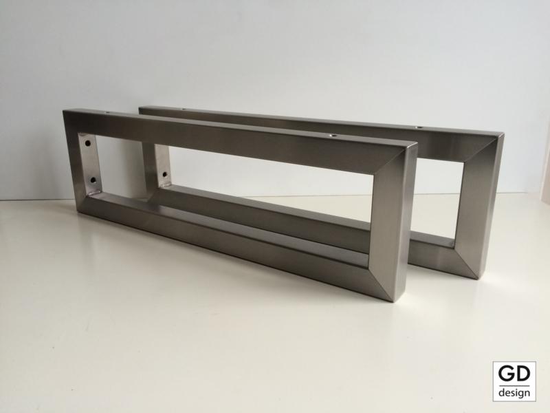 Onwijs Plankdragers, beugels & steunen RVS op maat | GD-design BL-66