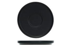 Onderbord  Black * diam. 15 cm