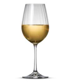 Witte wijnglas Romance S&P * set van 6