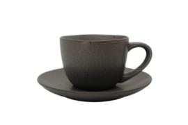 koffietas + onderbord Gemeo Mauricio