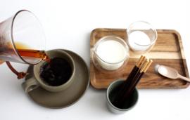 Espressocup / potje camogreen