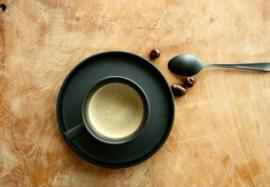 Koffie- /theetas Black