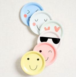 Feestbordjes emoji * 12 stuks
