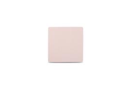 Glas onderzetter Tabletop S&P leder roze / set van 4