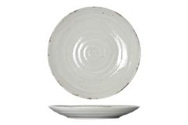 SET VAN 6 X Voorgerecht / dessertbord Avalon Greige - diameter 22 cm