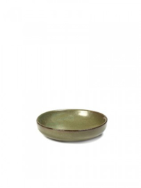 Amuse/apero  bordje Surface - camogreen - diam. 9 cm