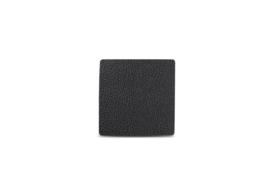 Glas onderzetter Tabletop S&P leder zwart / set van 4