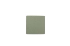 Glas onderzetter Tabletop S&P leder groen / set van 4
