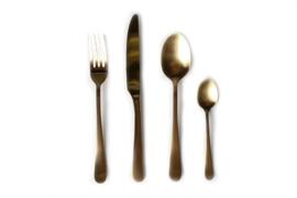 Bestekset Amefa Vintage - goud * 24-delig