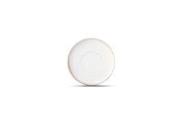 SET VAN 4 X Onderbord Element wit * diam. 14 cm