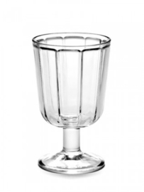 Witte wijnglas Serax Surface * set van 4