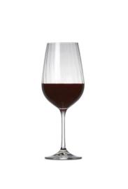 Rode wijnglas Romance S&P * set van 6