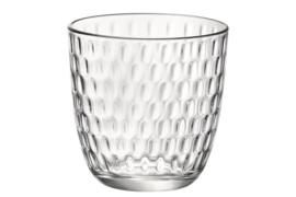 Waterglas Bormioli Slot - transparant * set van 6