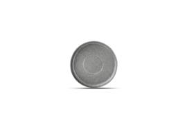 SET VAN 5 X Onderbord Element grijs * diam. 14 cm