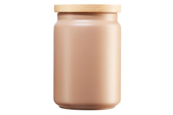 Voorraadpot 1 liter beige