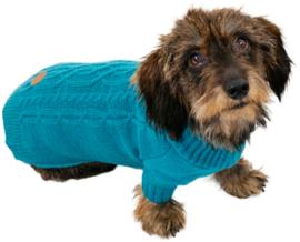Jack and Vanilla blauwe trui met mouw