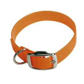 biothane fluo oranje halsband Heim