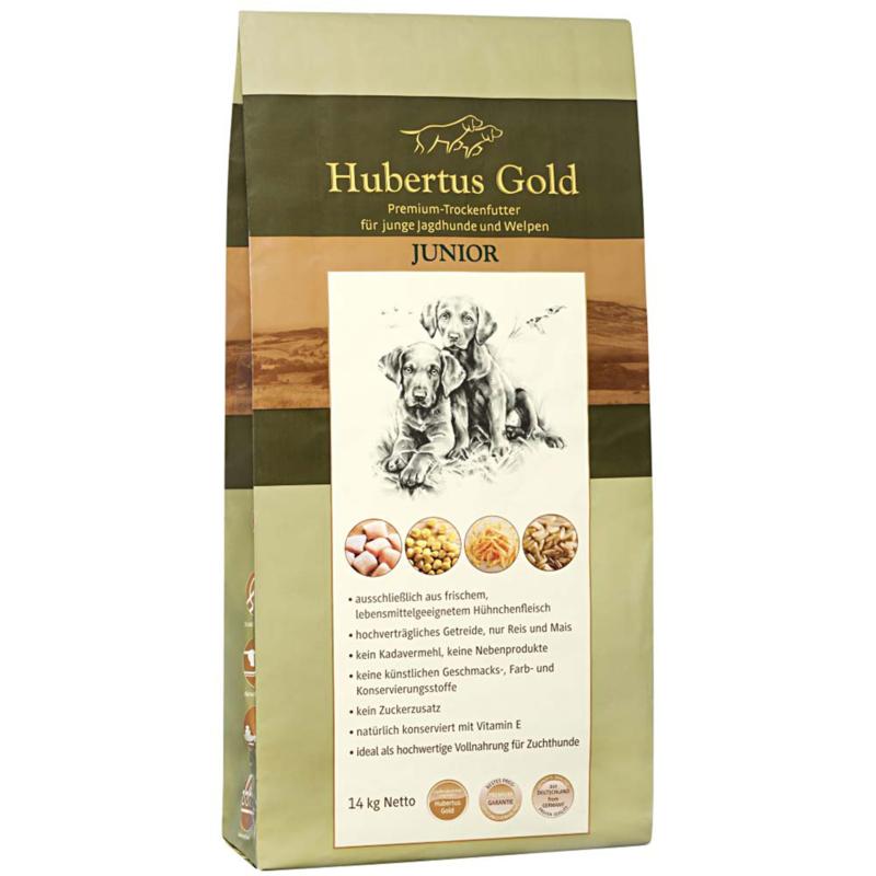 hubertus gold junior hondenvoeding  14 kg
