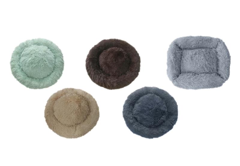 nieuwe winter kleuren ronde donut  60 cm