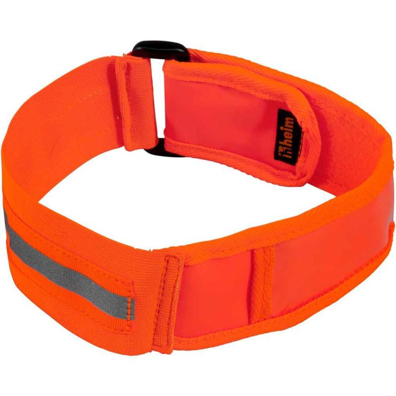 fluo jacht halsband met vak voor adresgegevens