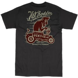 LUCKY 13  RED IN THE FACE T SHIRT