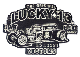 LUCKY 13 RAT ROD PATCH