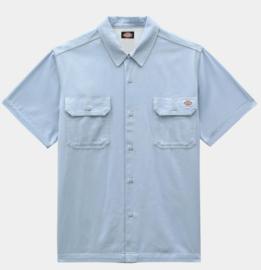 DICKIES WOLVERTON SHIRT FOG BLUE
