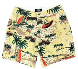 DICKIES SHORT PALM VALLEY YELLOW