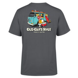 OLD GUYS RULE 'STAND BY YOUR VAN II' T-SHIRT CHARCOAL