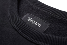 BRIXTON B SHIELD CREW BLACK