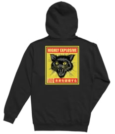 LOSER MACHINE BLACK CAT PULLOVER HOOD