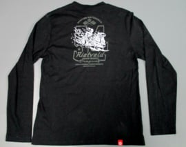 RIETVELD SNOW RODS LS T-SHIRT BLACK