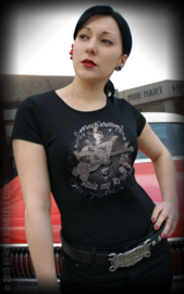 RUMBLE 59 T  SHIRT ROCKABILLY STOLE MY HEART