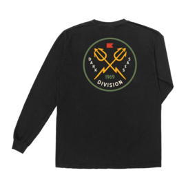DARK SEAS SAIGON  T SHIRT LONGSLEEVE BLACK