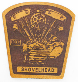 LOSER MACHINE LEATHER PATCH SHOVEL