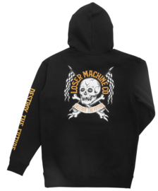 LOSER MACHINE GASLAMP PULLOVER HOOD BLACK