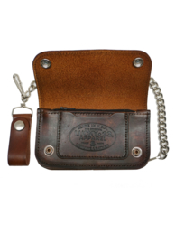 LUCKY 13  DEATH RACER EMBOSSED WALLET