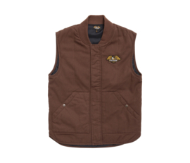 LOSER MACHINE CONDOR II VEST BROWN