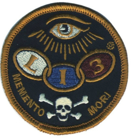 LUCKY 13 THE DEAD EYE EMBROIDERED PATCH