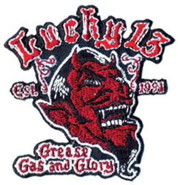 LUCKY 13 GREASE, GAS & GLORY PATCH