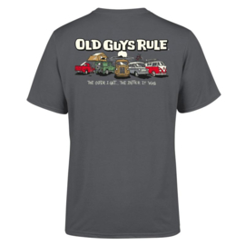 OLD GUYS RULE 'PARKING LOT III' T-SHIRT CHARCOAL