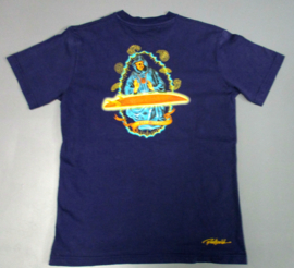 RIETVELD THE MIRACLE  T-SHIRT BLUE NAVY