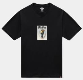 DICKIES BAUDETTE T-SHIRT  BLACK