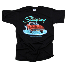 VINTAGE CHEVROLET CHEVY STINGRAY BLACK T SHIRT