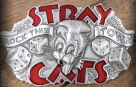 RUMBLE 59 STRAY CATS BUCKLE