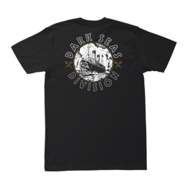 DARK SEAS TRANSCONTINENTAL  T SHIRT BLACK