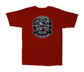 LOSER MACHINE EVERYDAY HERO T-SHIRT CARDINAL RED