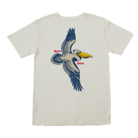 LONG BRANCH OLD TIME POCKET TEE ANTIQUE WHITE