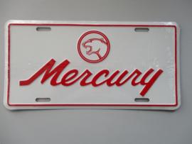 KENTEKENPLAAT FORD MERCURY LOGO METAAL
